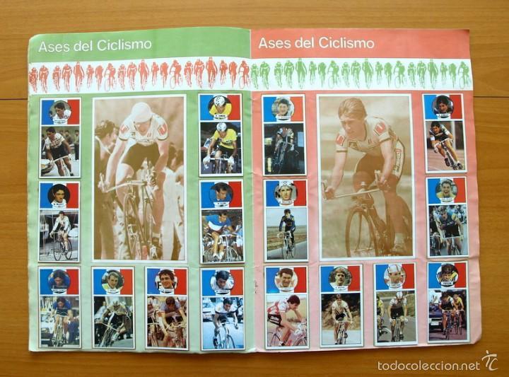 Coleccionismo deportivo: Ciclismo - Vuelta ciclista - Ases del pedal - Editorial J. Merchante 1987 - Completo - Ver fotos - Foto 6 - 59842848