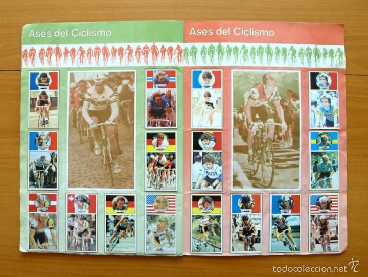 Coleccionismo deportivo: Ciclismo - Vuelta ciclista - Ases del pedal - Editorial J. Merchante 1987 - Completo - Ver fotos - Foto 8 - 59842848