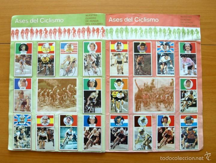 Coleccionismo deportivo: Ciclismo - Vuelta ciclista - Ases del pedal - Editorial J. Merchante 1987 - Completo - Ver fotos - Foto 9 - 59842848