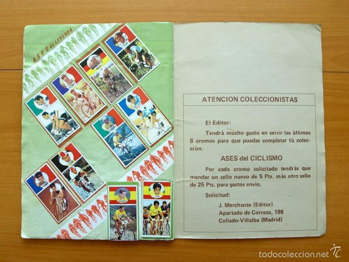 Coleccionismo deportivo: Ciclismo - Vuelta ciclista - Ases del pedal - Editorial J. Merchante 1987 - Completo - Ver fotos - Foto 10 - 59842848
