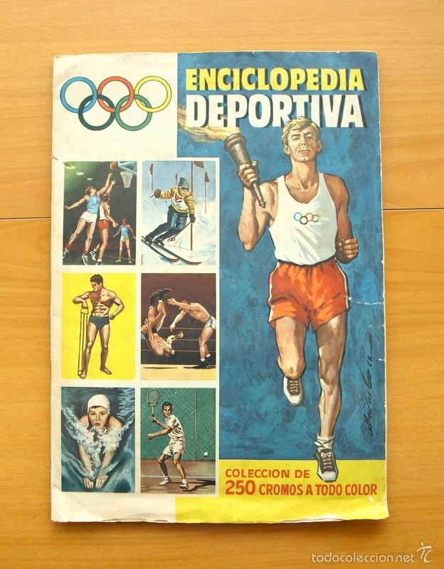 ENCICLOPEDIA DEPORTIVA - EDITORIAL BRUGUERA 1963 - A FALTA DE 9 CROMOS (Coleccionismo Deportivo - Álbumes otros Deportes)