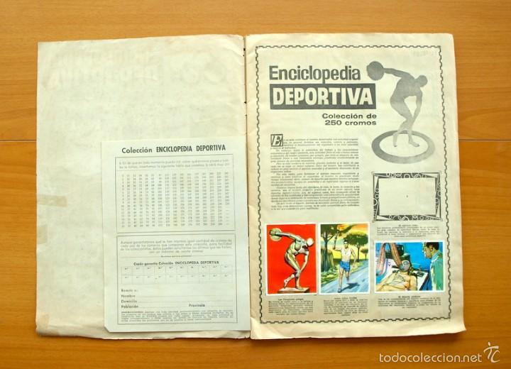 Coleccionismo deportivo: Enciclopedia Deportiva - Editorial Bruguera 1963 - a falta de 9 cromos - Foto 2 - 61091951