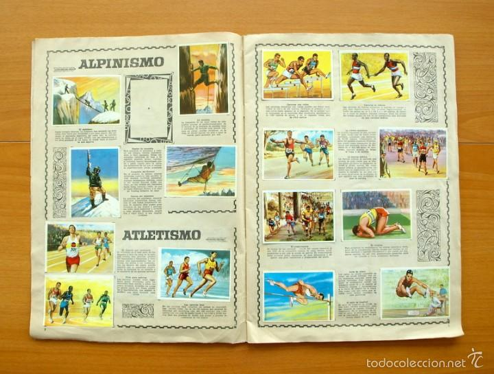 Coleccionismo deportivo: Enciclopedia Deportiva - Editorial Bruguera 1963 - a falta de 9 cromos - Foto 3 - 61091951