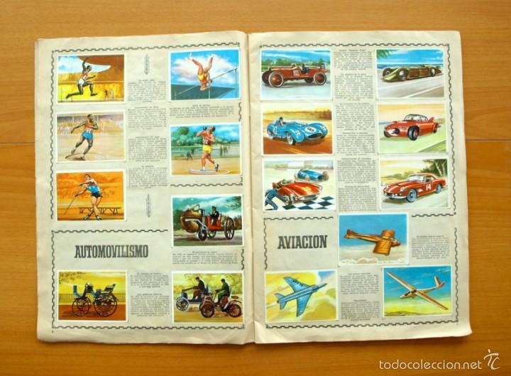 Coleccionismo deportivo: Enciclopedia Deportiva - Editorial Bruguera 1963 - a falta de 9 cromos - Foto 4 - 61091951
