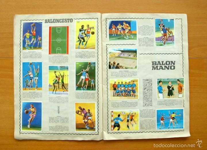 Coleccionismo deportivo: Enciclopedia Deportiva - Editorial Bruguera 1963 - a falta de 9 cromos - Foto 5 - 61091951