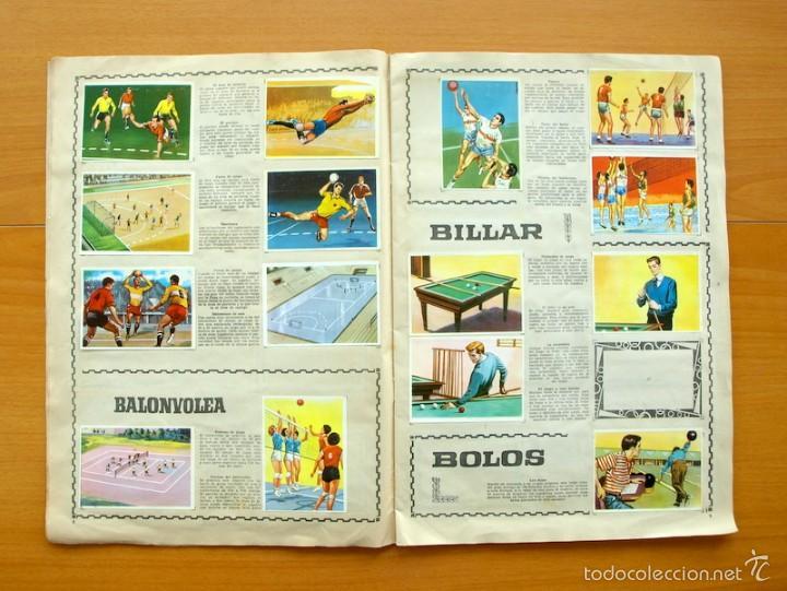 Coleccionismo deportivo: Enciclopedia Deportiva - Editorial Bruguera 1963 - a falta de 9 cromos - Foto 6 - 61091951