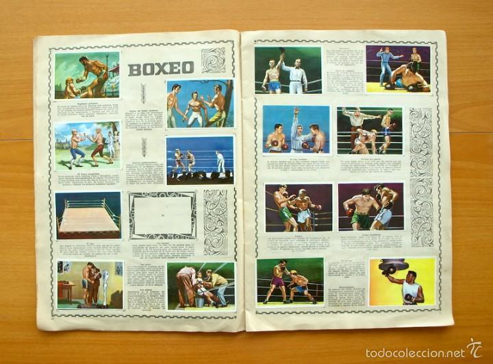 Coleccionismo deportivo: Enciclopedia Deportiva - Editorial Bruguera 1963 - a falta de 9 cromos - Foto 7 - 61091951