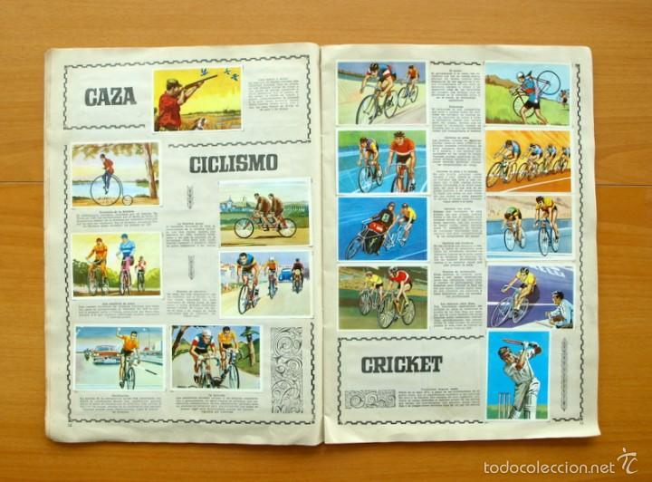 Coleccionismo deportivo: Enciclopedia Deportiva - Editorial Bruguera 1963 - a falta de 9 cromos - Foto 8 - 61091951