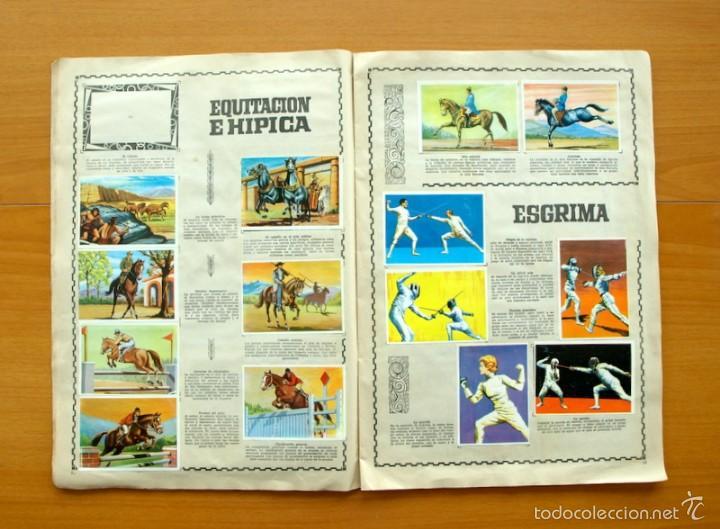 Coleccionismo deportivo: Enciclopedia Deportiva - Editorial Bruguera 1963 - a falta de 9 cromos - Foto 9 - 61091951