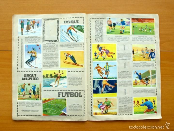 Coleccionismo deportivo: Enciclopedia Deportiva - Editorial Bruguera 1963 - a falta de 9 cromos - Foto 10 - 61091951