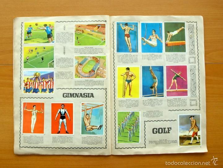Coleccionismo deportivo: Enciclopedia Deportiva - Editorial Bruguera 1963 - a falta de 9 cromos - Foto 11 - 61091951