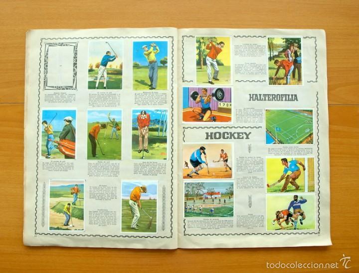 Coleccionismo deportivo: Enciclopedia Deportiva - Editorial Bruguera 1963 - a falta de 9 cromos - Foto 12 - 61091951