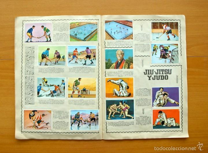 Coleccionismo deportivo: Enciclopedia Deportiva - Editorial Bruguera 1963 - a falta de 9 cromos - Foto 13 - 61091951
