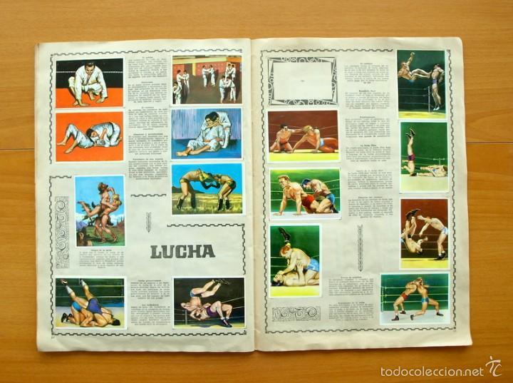 Coleccionismo deportivo: Enciclopedia Deportiva - Editorial Bruguera 1963 - a falta de 9 cromos - Foto 14 - 61091951