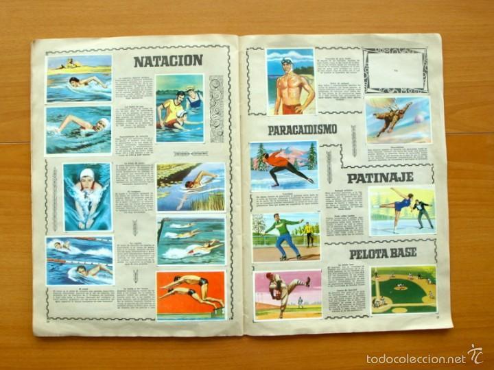Coleccionismo deportivo: Enciclopedia Deportiva - Editorial Bruguera 1963 - a falta de 9 cromos - Foto 15 - 61091951