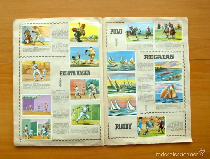 Coleccionismo deportivo: Enciclopedia Deportiva - Editorial Bruguera 1963 - a falta de 9 cromos - Foto 16 - 61091951