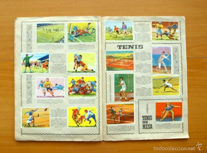 Coleccionismo deportivo: Enciclopedia Deportiva - Editorial Bruguera 1963 - a falta de 9 cromos - Foto 17 - 61091951