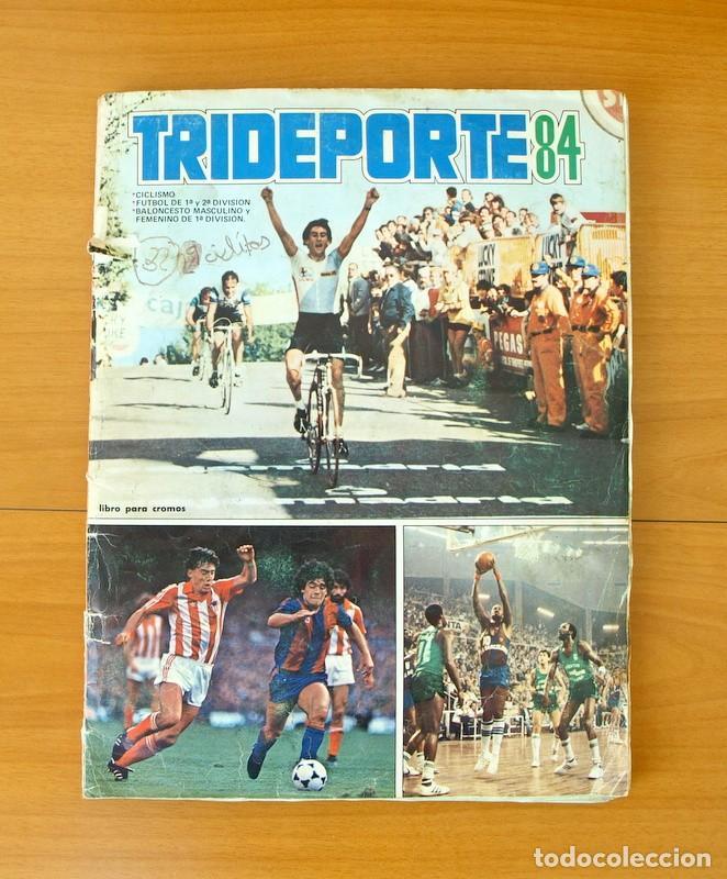TRIDEPORTE 84 - EDITORIAL FHER - COMPLETO (Coleccionismo Deportivo - Álbumes otros Deportes)