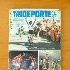 Coleccionismo deportivo: ÁLBUM TRIDEPORTE 84 - EDITORIAL FHER 1984 - COMPLETO. Lote 61530108
