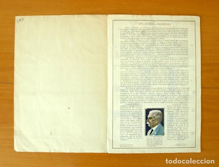 Coleccionismo deportivo: Atletas Tokio 1964 - Editorial Fher - Completo - Foto 2 - 61531912
