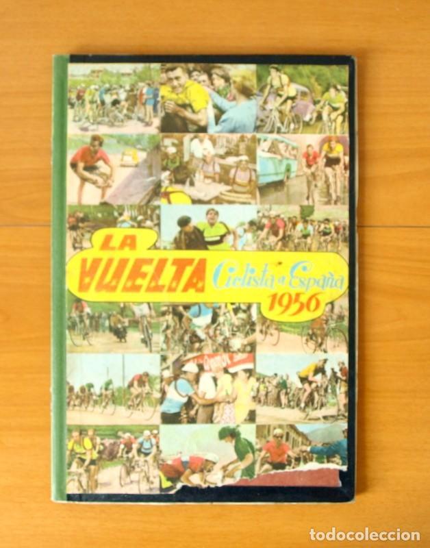 CICLISMO - VUELTA CICLISTA A ESPAÑA 1956 - EDITORIAL FHER - COMPLETO (Coleccionismo Deportivo - Álbumes otros Deportes)