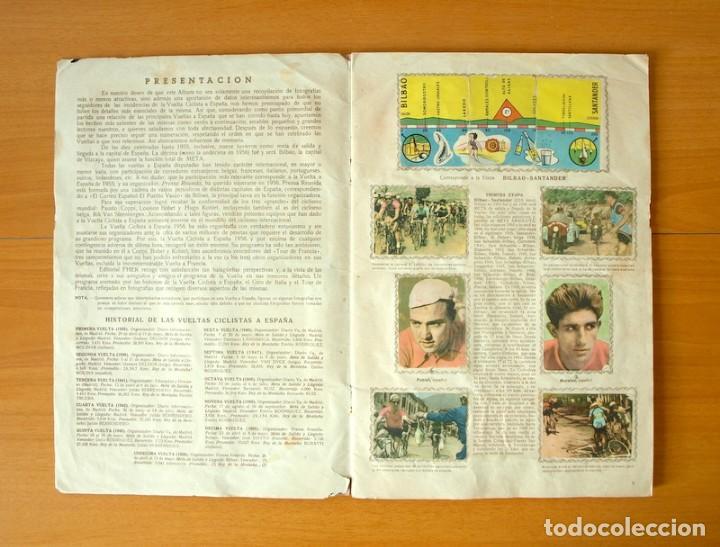 Coleccionismo deportivo: Ciclismo - Vuelta Ciclista a España 1956 - Editorial Fher - Completo - Foto 3 - 61533864