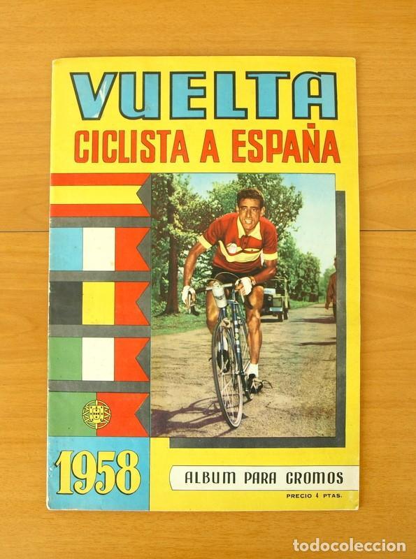 CICLISMO - VUELTA CICLISTA A ESPAÑA 1958 - COMPLETO (Coleccionismo Deportivo - Álbumes otros Deportes)