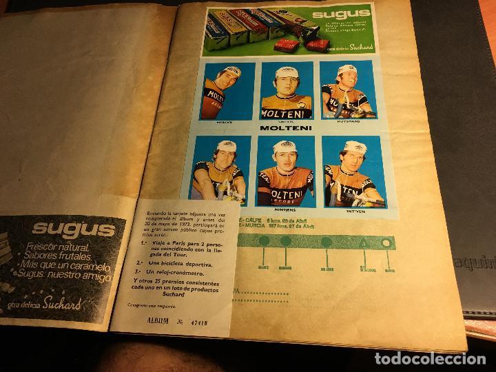 Coleccionismo deportivo: ALBUM COMPLETO CICLISTA GACETA DEL NORTE Y CHOCOLATE SUCHARD 1972 (ALB-A) - Foto 2 - 62085460