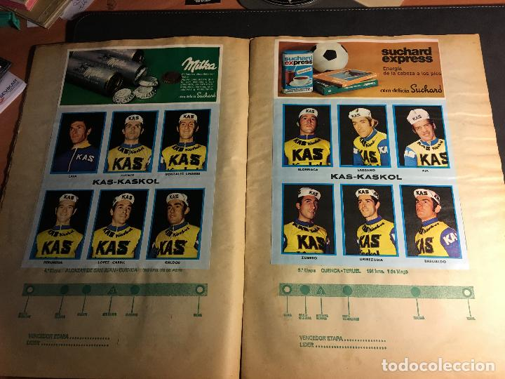 Coleccionismo deportivo: ALBUM COMPLETO CICLISTA GACETA DEL NORTE Y CHOCOLATE SUCHARD 1972 (ALB-A) - Foto 3 - 62085460