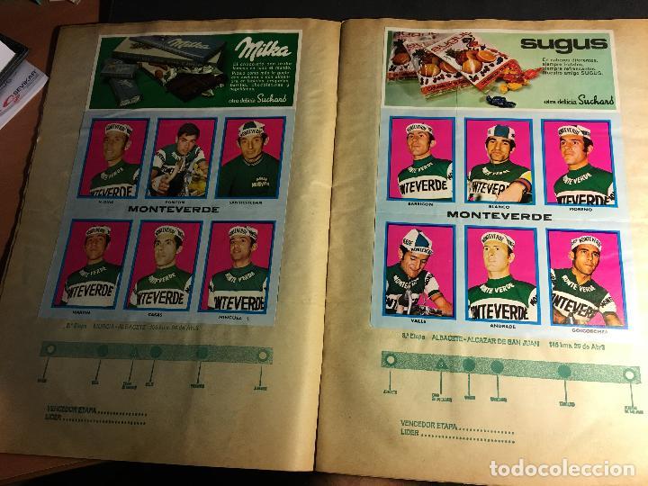 Coleccionismo deportivo: ALBUM COMPLETO CICLISTA GACETA DEL NORTE Y CHOCOLATE SUCHARD 1972 (ALB-A) - Foto 4 - 62085460