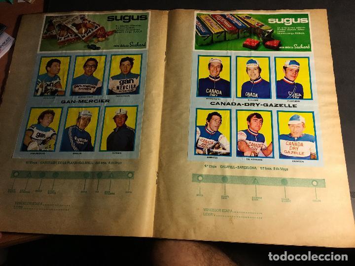Coleccionismo deportivo: ALBUM COMPLETO CICLISTA GACETA DEL NORTE Y CHOCOLATE SUCHARD 1972 (ALB-A) - Foto 5 - 62085460