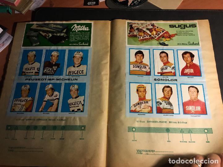 Coleccionismo deportivo: ALBUM COMPLETO CICLISTA GACETA DEL NORTE Y CHOCOLATE SUCHARD 1972 (ALB-A) - Foto 7 - 62085460