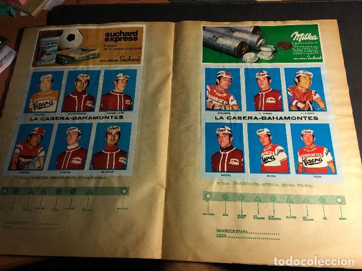 Coleccionismo deportivo: ALBUM COMPLETO CICLISTA GACETA DEL NORTE Y CHOCOLATE SUCHARD 1972 (ALB-A) - Foto 8 - 62085460
