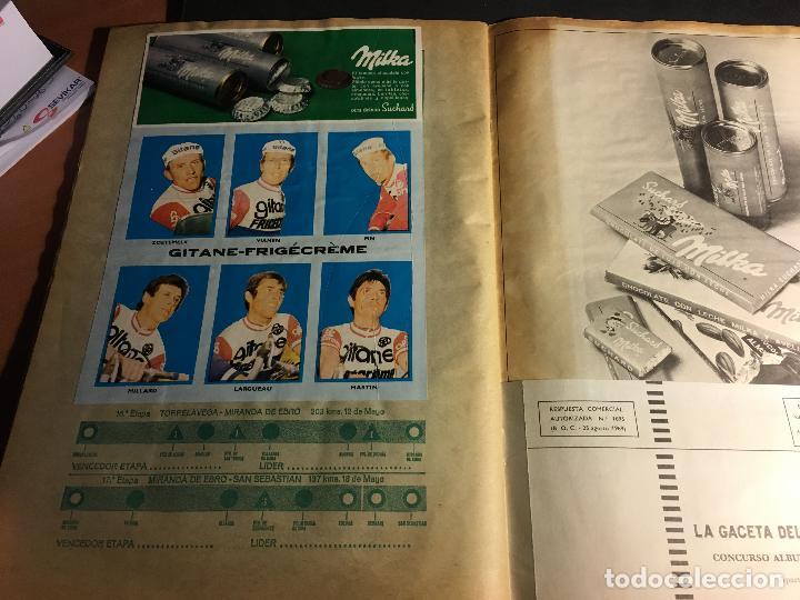 Coleccionismo deportivo: ALBUM COMPLETO CICLISTA GACETA DEL NORTE Y CHOCOLATE SUCHARD 1972 (ALB-A) - Foto 9 - 62085460