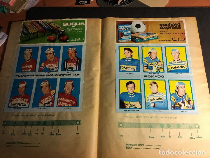 Coleccionismo deportivo: ALBUM COMPLETO CICLISTA GACETA DEL NORTE Y CHOCOLATE SUCHARD 1972 (ALB-A) - Foto 10 - 62085460
