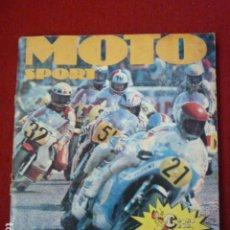 Coleccionismo deportivo: ALBUM MOTO SPORT. FALTAN 3 CROMOS. . Lote 62212492