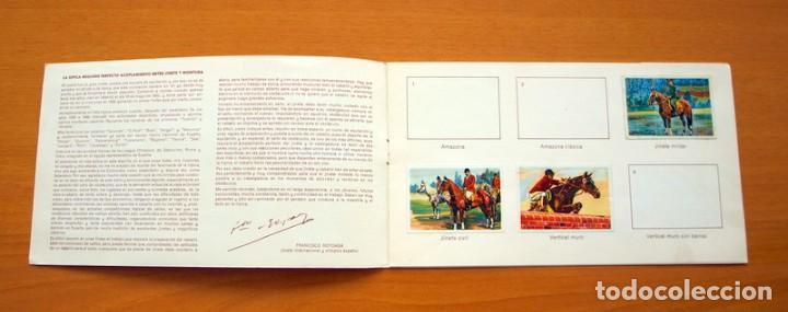 Coleccionismo deportivo: El deporte visto por sus ases - nº 2 Equitación e hípica - Nestle 1967 - Foto 2 - 63739115