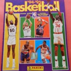 Coleccionismo deportivo: ALBUM COMPLETO NBA BASKETBALL 94/95 PANINI - COLECCION COMPLETA CROMOS 1994/1995 LAKERS CELTICS. Lote 68730229