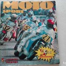 Coleccionismo deportivo: ÁLBUM DE CROMOS MOTO SPORT (COMPLETO). Lote 68876541