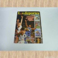 Coleccionismo deportivo: ANTIGUO ÁLBUM DE CROMOS LOS DEPORTES. Lote 71687353