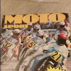 Coleccionismo deportivo: MOTO SPORT. Lote 72173527