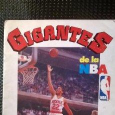 Collectionnisme sportif: GIGANTES DE LA NBA - EDT. HOBBY PRESS 1987 (A-0). Lote 72388507