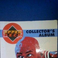 Coleccionismo deportivo: ALBUM UPPER DECK COLLECTOR'S ALBUM NBA 94-95. Lote 75119199