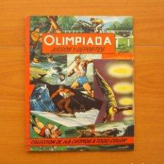 Coleccionismo deportivo: OLIMPIADA, JUEGOS Y DEPORTES - EDITORIAL RUIZ ROMERO 1957 - COMPLETO . Lote 76521327