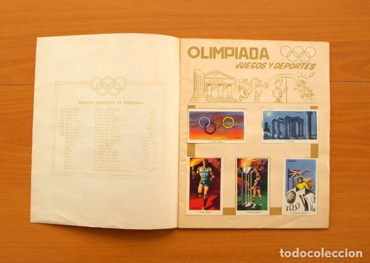 Coleccionismo deportivo: Álbum Olimpiada, juegos y deportes - Editorial Ruiz Romero 1957 - Completo - Foto 2 - 76521327