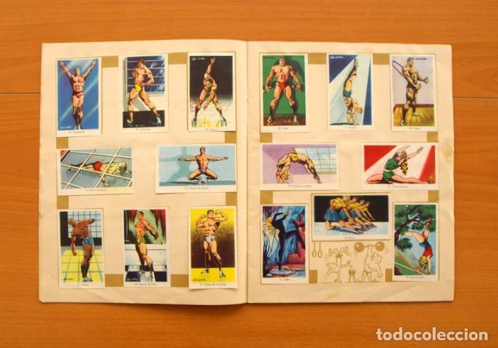 Coleccionismo deportivo: Álbum Olimpiada, juegos y deportes - Editorial Ruiz Romero 1957 - Completo - Foto 4 - 76521327