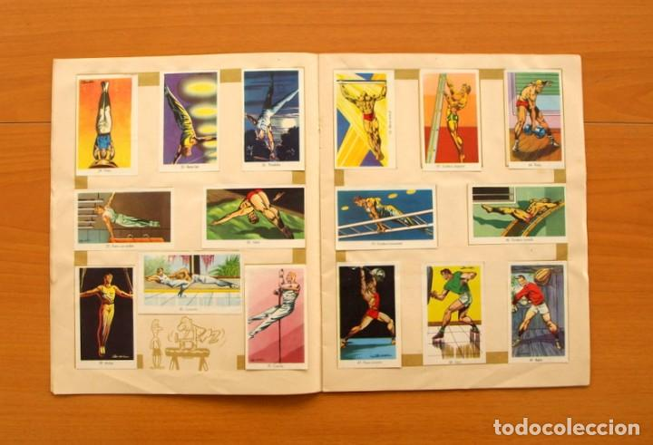 Coleccionismo deportivo: Álbum Olimpiada, juegos y deportes - Editorial Ruiz Romero 1957 - Completo - Foto 5 - 76521327