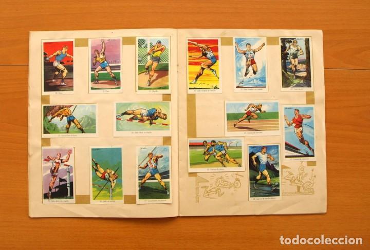 Coleccionismo deportivo: Álbum Olimpiada, juegos y deportes - Editorial Ruiz Romero 1957 - Completo - Foto 6 - 76521327