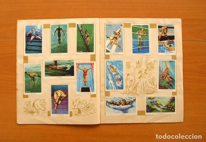 Coleccionismo deportivo: Álbum Olimpiada, juegos y deportes - Editorial Ruiz Romero 1957 - Completo - Foto 7 - 76521327