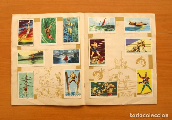 Coleccionismo deportivo: Álbum Olimpiada, juegos y deportes - Editorial Ruiz Romero 1957 - Completo - Foto 8 - 76521327